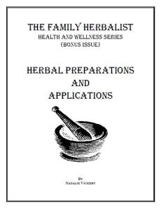 Herbal Preps and Apps 2D